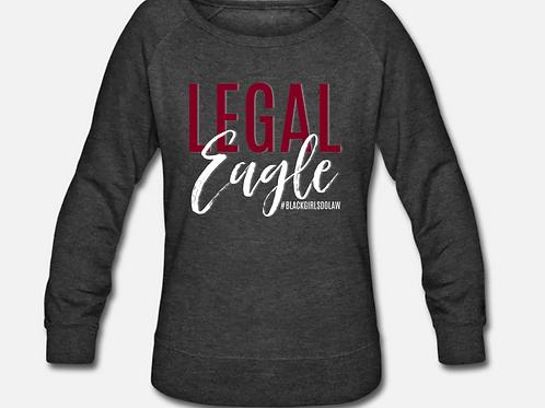 Legal Eagle Wideneck Crewneck Sweatshirt
