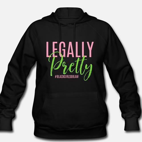 MEDIUM Legally Pretty Hoodie