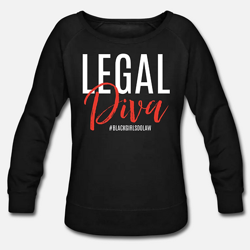 Legal Diva Crewneck Sweatshirt