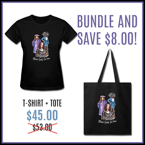 BGDL/QJ T-Shirt + Tote Bundle
