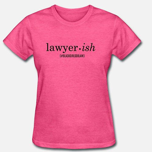 IN STOCK/ON SALE (1) LARGE Lawyer-ish T-shirt