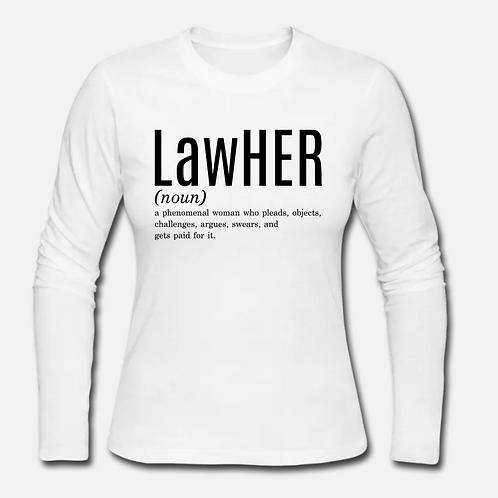 LawHER Long Sleeve Shirt