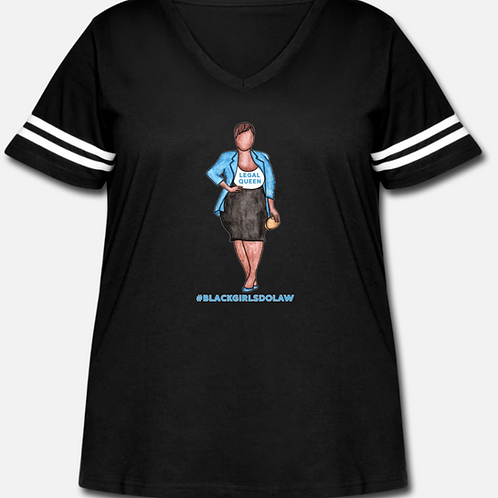 Legal Queen Curvy Vintage Sport T-Shirt