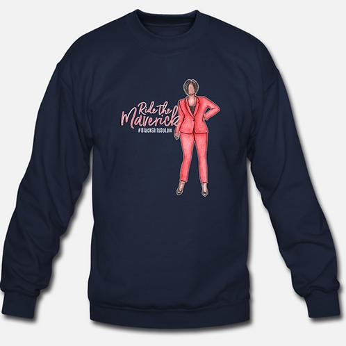 Ride the Maverick Unisex Crewneck Sweatshirt