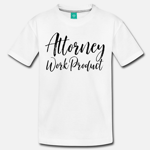 Attorney Product Toddler/Youth Short Sleeve Shirt
