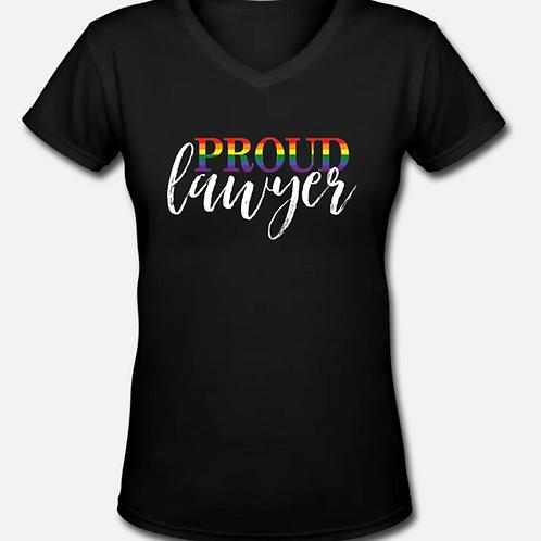 PROUD Lawyer V-Neck T-Shirt