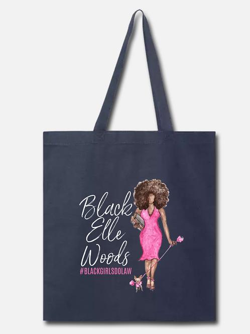 BLACK Elle Woods Tote