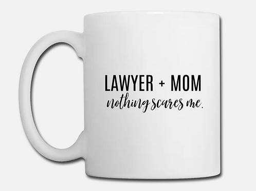Lawyer + Mom Coffee Mug