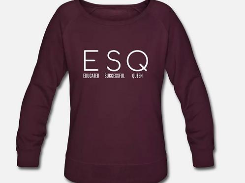 ESQ Crewneck Wideneck Sweatshirt