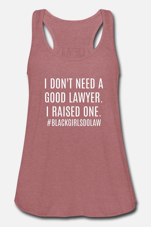 LARGE Good Lawyer Tank Top