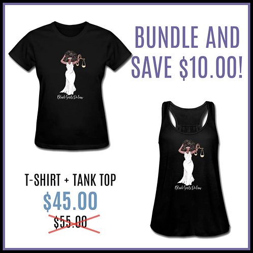 BGDL/QJ T-Shirt + Tank Top Bundle