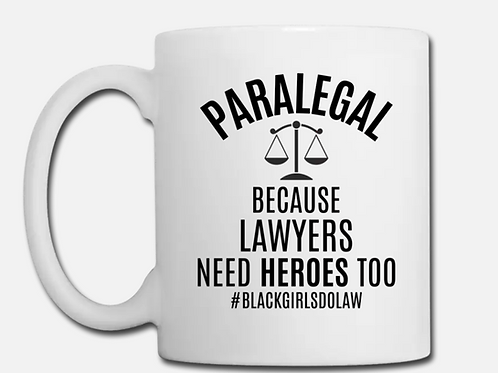 Hero Paralegal Coffee Mug