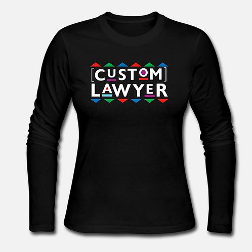 Custom Lawyer Long Sleeve Shirt