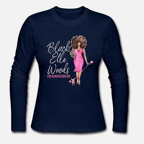 BLACK Elle Woods Long Sleeve Shirt