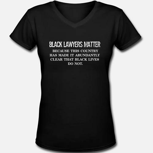 BLM V-Neck T-Shirt