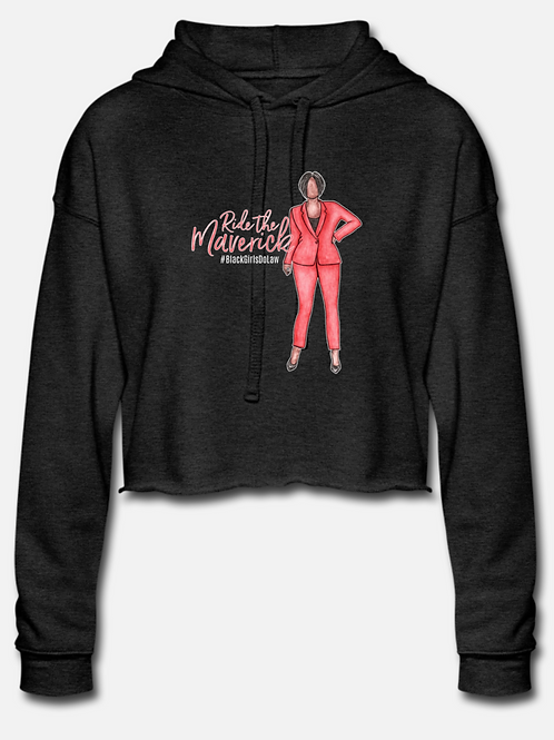 Ride the Maverick Cropped Hoodie