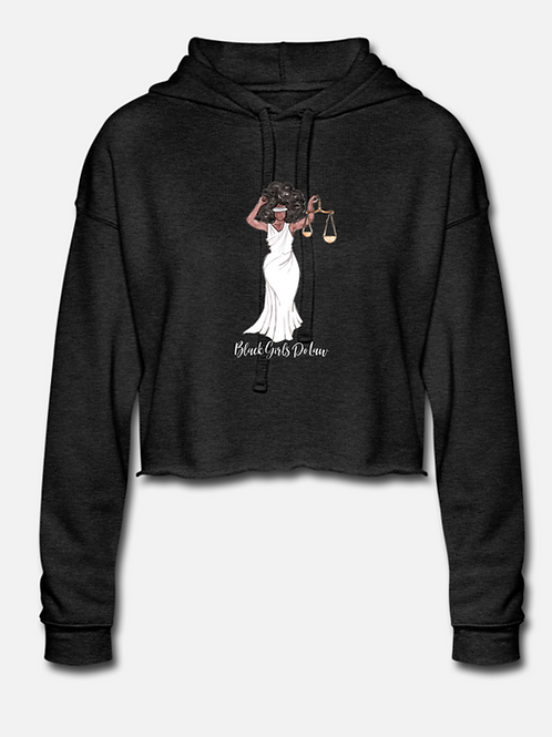 QUEEN Justice Cropped Hoodie