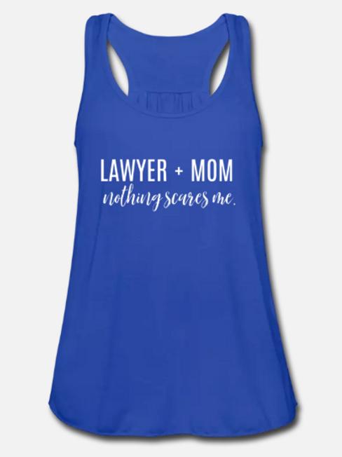 Lawyer + Mom Tank Top