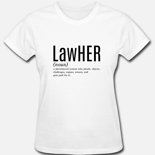 SMALL LawHER T-shirt