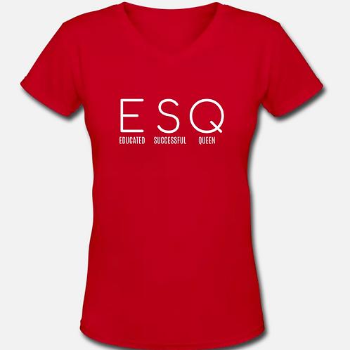 ESQ V-Neck T-Shirt