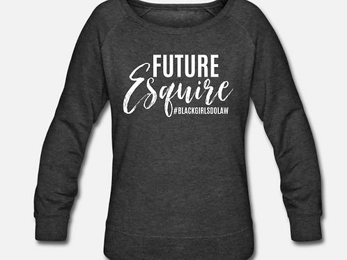 Future Esquire Wideneck Crewneck Sweatshirt