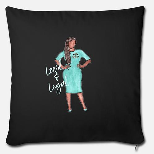 Loc'd & Legal Pillow Case