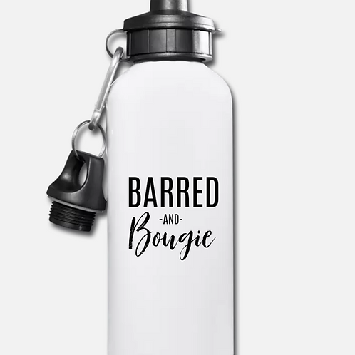 Barred and Bougie Water Bottle