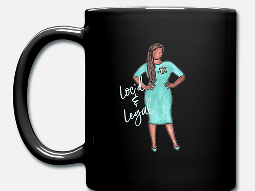 Loc'd & Legal Coffee Mug