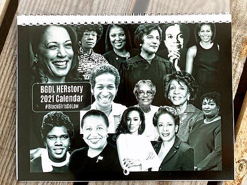 BGDL HERstory 2021 Wall Calendar