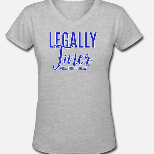 Legally Finer V-Neck T-Shirt