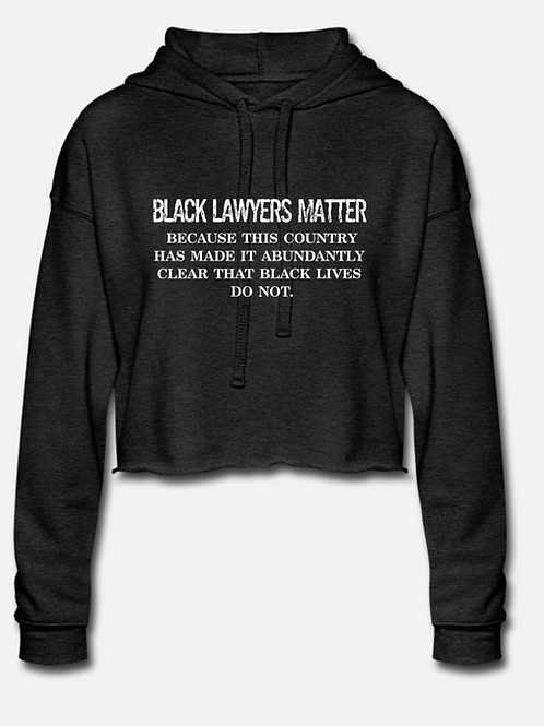 IN STOCK/ON SALE (1) XL BLM Cropped Hoodie