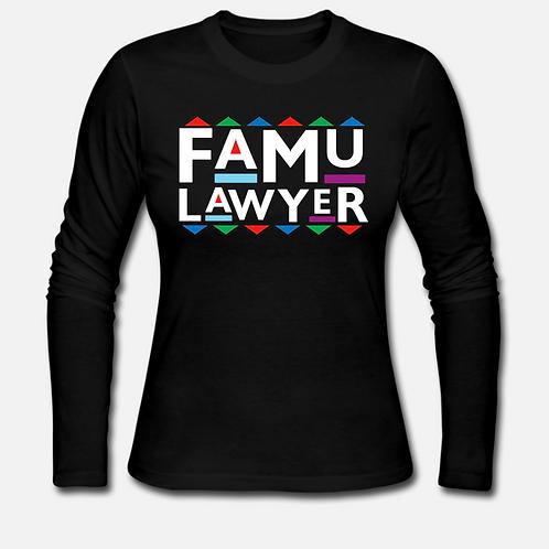 FAMU Lawyer Long Sleeve Shirt