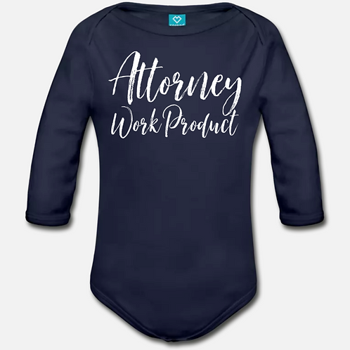 Attorney Product Long Sleeve Onesie