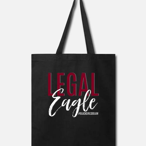 Legal Eagle Black Tote