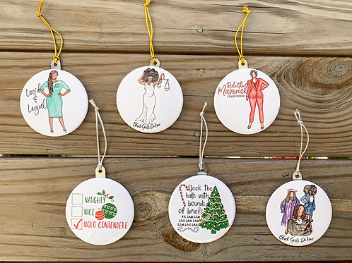 BGDL Christmas Ornament (IN STOCK!)