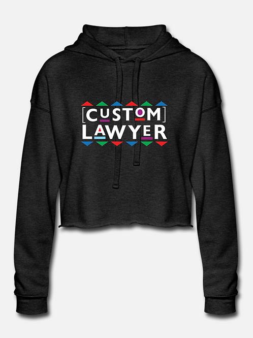 CUSTOM Lawyer Cropped Hoodie