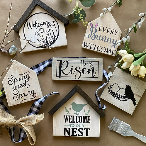 Easter and Spring Mini @HOME DIY KITS!