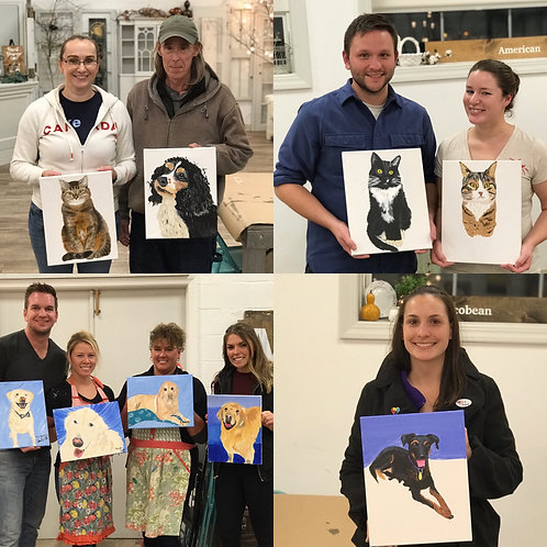 Kishwaukee Y1/Y2 Staff Paint your Pet ~ Wednesday, 5/12 ~ 6:30-8:30 pm