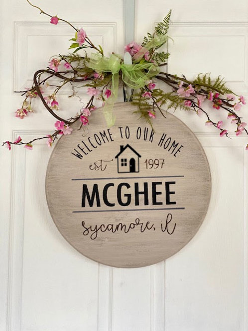 Round Home Signs ~ DIY-TO-GO KITS!