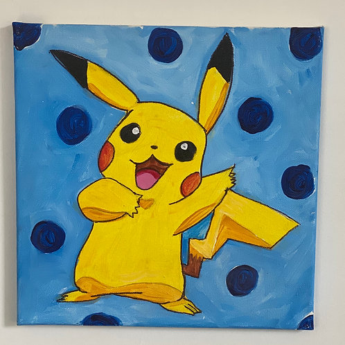 Kids Pokemon Painting Class ~Thursday, 8/27 ~9:30-10:30am