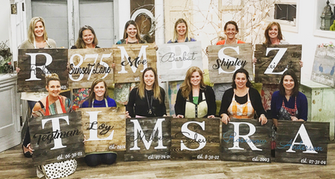 Private Party Monogram Fun!