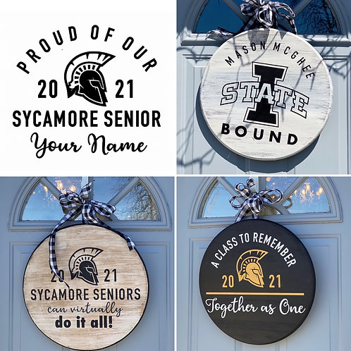 CLASS OF 2021 ~ PORCH SIGNS!