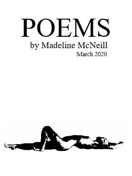 Poems by Madeline McNeill