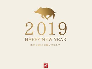 2019明けましておめでとうございます