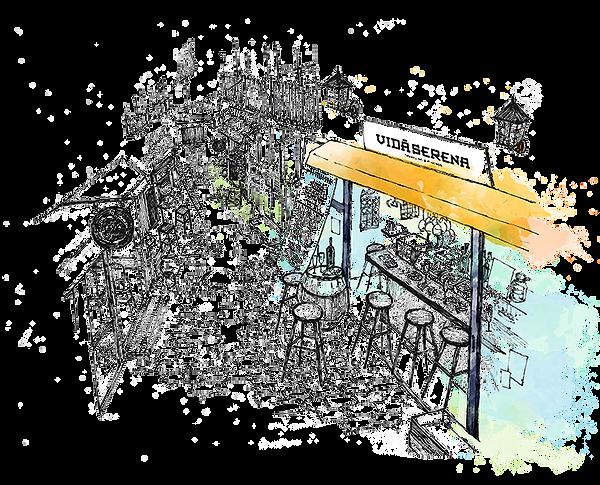 町田仲見世商店街,スパークリングワイン,ビダセレナ,ヴィダセレナ,VIDA SERENA,スペインバル,シャンパン,スパニッシュ,ピンチョス,ちょい飲み,カウンター,町田