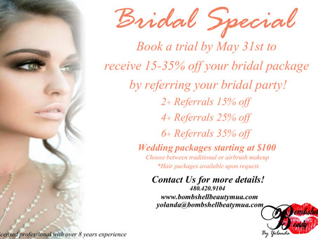 Spring Bridal Special