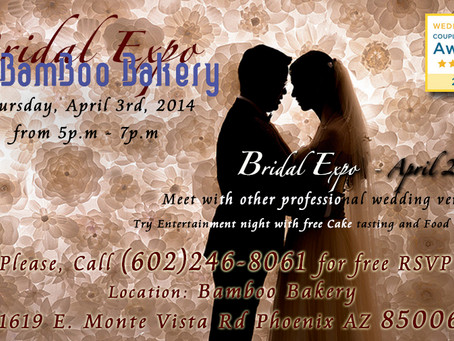 April 3rd 2014 Bridal Expo