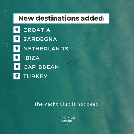 The Yacht Club is not dead