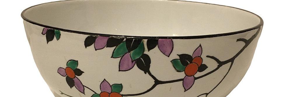 Art Deco Shelley Bowl Orange Tree Blossom Pattern 8574