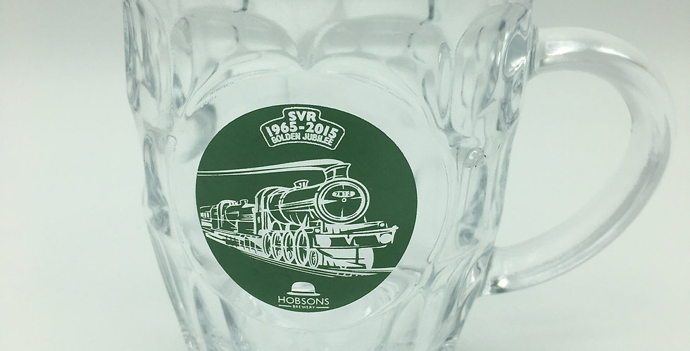 Dimple Pint Glass Hobsons Brewery Severn Valley